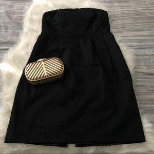 EXPRESS Little Black Strapless Dress